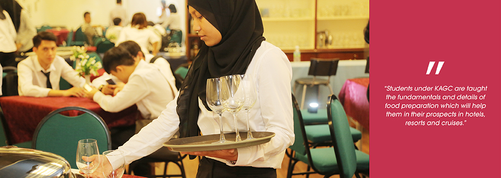 Certificate in Food and Beverage Service - College KAGC Malaysia